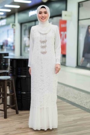 Dress Heliza Off White
