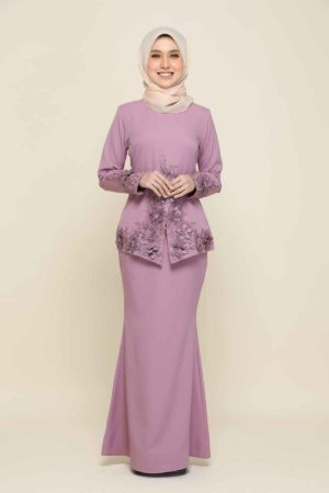 Kebaya Yaya Dusty Purple