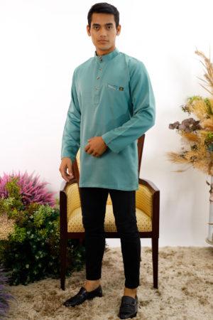 Kurta Abu Bakar Pine Green