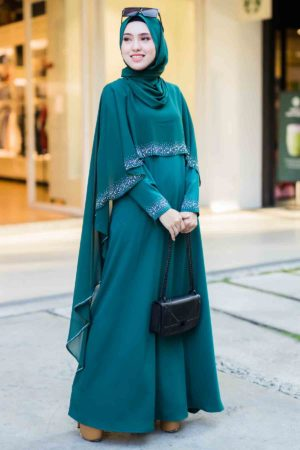 Jubah Ratu Arab Emerald Green
