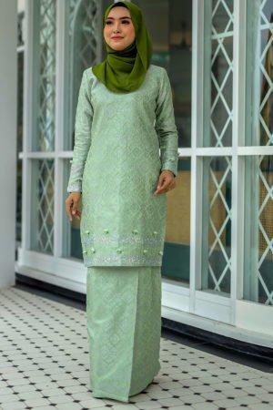 Kurung Songket Original Green