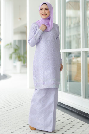 Kurung Songket Original Purple