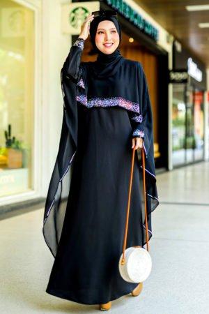 Jubah Ratu Arab Black