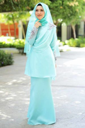 Kurung Seri Mint Green