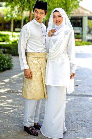 Set Couple Seri Off White