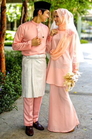 Set Couple Seri Peach