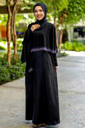 Jubah Ratu Arab v2.0 Black