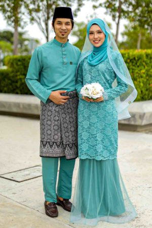 Set Couple Deena Pine Green
