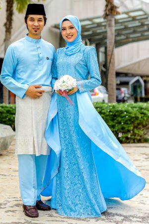 Set Couple Lareenda Baby Blue (FULL SET)