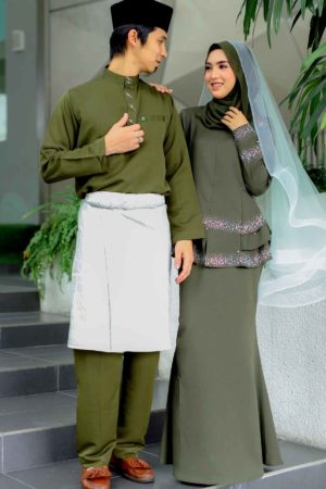 Set Couple Safiera Olive Green