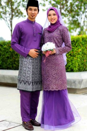 Set Couple Deena Purple