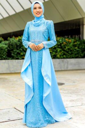 Dress Lareenda Baby Blue