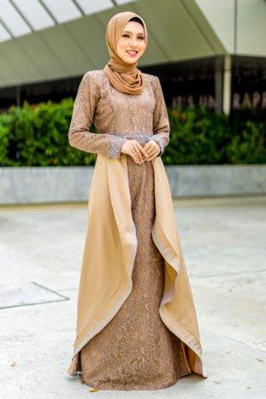 Dress Lareenda Mocha
