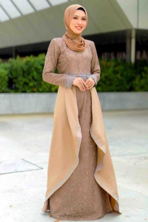 Dress Lareenda Mocha