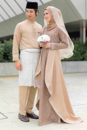 Set Couple Lareenda Mocha