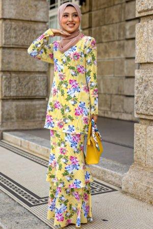 Kurung Orkid Yellow