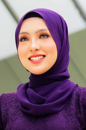 Shawl Chiffon Dark Purple