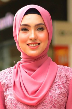 Shawl Chiffon Dusty Pink