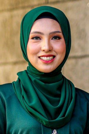 Shawl Chiffon Emerald Green