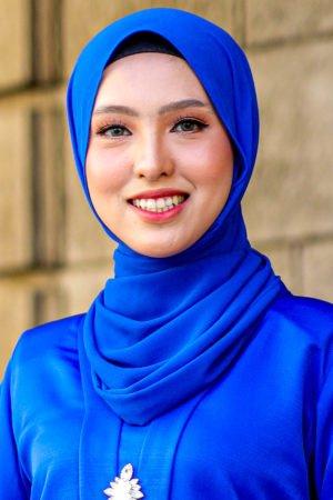 Shawl Chiffon Royal Blue