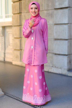 Kebaya Sareema Dusty Pink