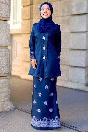 Kebaya Sareema Navy Blue