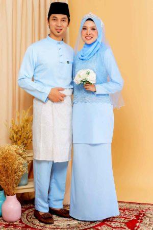 Set Couple Youna Baby Blue