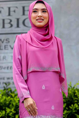 Cape Raudhah Dusty Pink