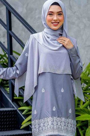Cape Raudhah Light Grey