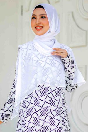Cape Raudhah Off White