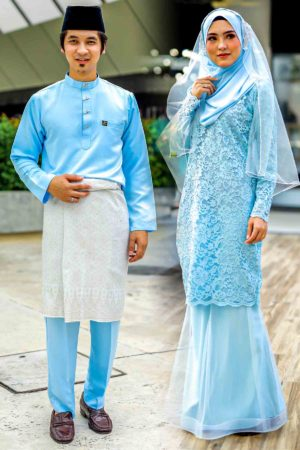 Set Couple Deena Baby Blue