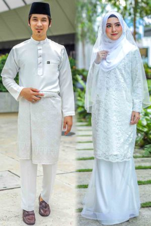 Set Couple Deena Off White (FULL SET)