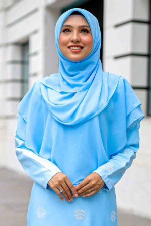 Khimar Umairah Baby Blue