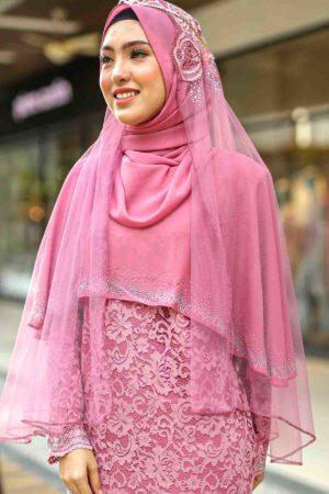 Veil A Dusty Pink