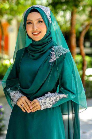 Veil A Emerald Green