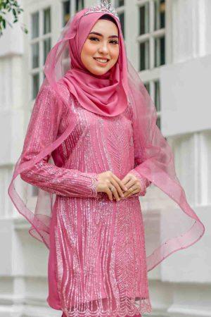 Veil B Dusty Pink