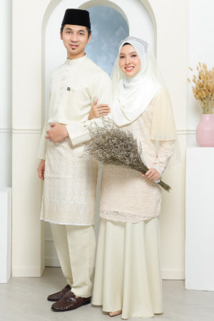 Set Couple Tyara Cream ( FULL SET )