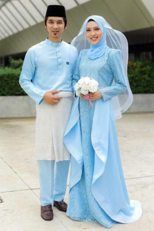 Set Couple Lareenda Baby Blue (FULL SET)