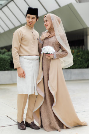 Set Couple Lareenda Mocha (FULL SET)