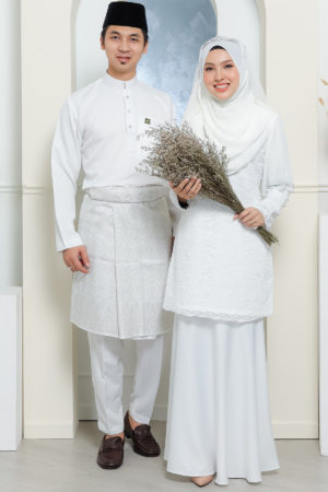 Set Couple Tyara Off White ( FULL SET )