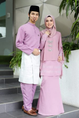Set Couple Ratu Dusty Purple (FULL SET)