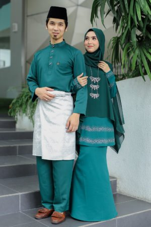 Set Couple Ratu Emerald Green (FULL SET)