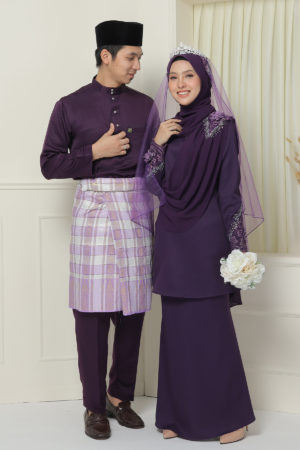 Set Couple Seri Dark Purple ( FULL SET )