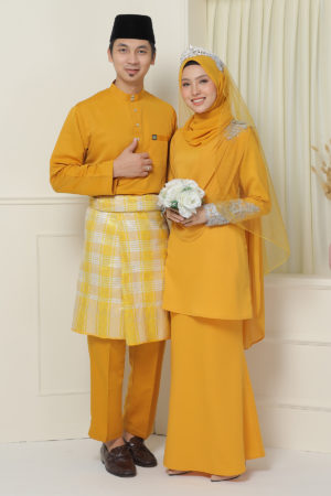 Set Couple Seri Mustard ( FULL SET )