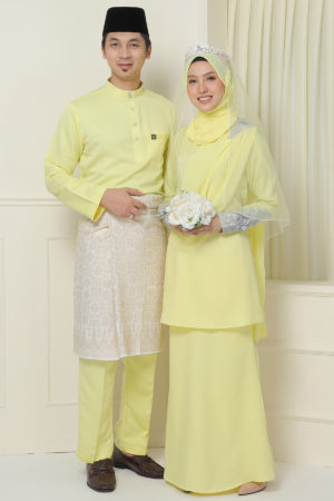 Set Couple Seri Yellow ( FULL SET )
