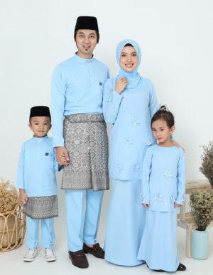 SET FAMILY ERIYCA BABY BLUE