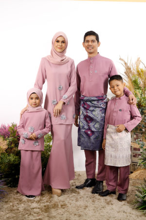 SET FAMILY ERIYCA DUSTY PURPLE