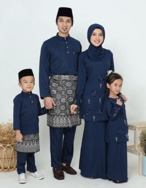 SET FAMILY ERIYCA NAVY BLUE