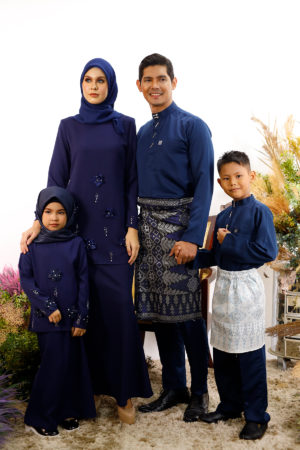 SET FAMILY ERIYCA NAVY BLUE