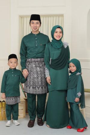 SET FAMILY SERI EMERALD GREEN